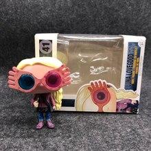 Funko поп фильм Гарри характер Luna Лавгуд с очки 10 см винил кукла фигурку Коллекция Модель игрушечные лошадки