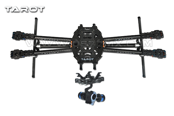 Tarot FY650 IRON MAN 650 Quadcopter Carbon Fiber Tubes Multicopter ...
