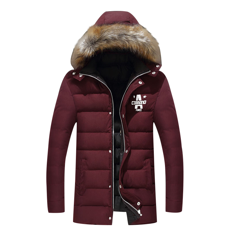 2017 Winter Warm Casual Padded Jacket Men hooded Parka Coat Thick Outwear Plus Size M-4XL long Jacket Brand New Male Clothing free shipping winter parkas men jacket new 2017 thick warm loose brand original male plus size m 5xl coats 80hfx