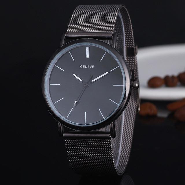 Fashion Black Ladies Watch high Quality Ultra-thin Quartz Watch Elegant Dress La