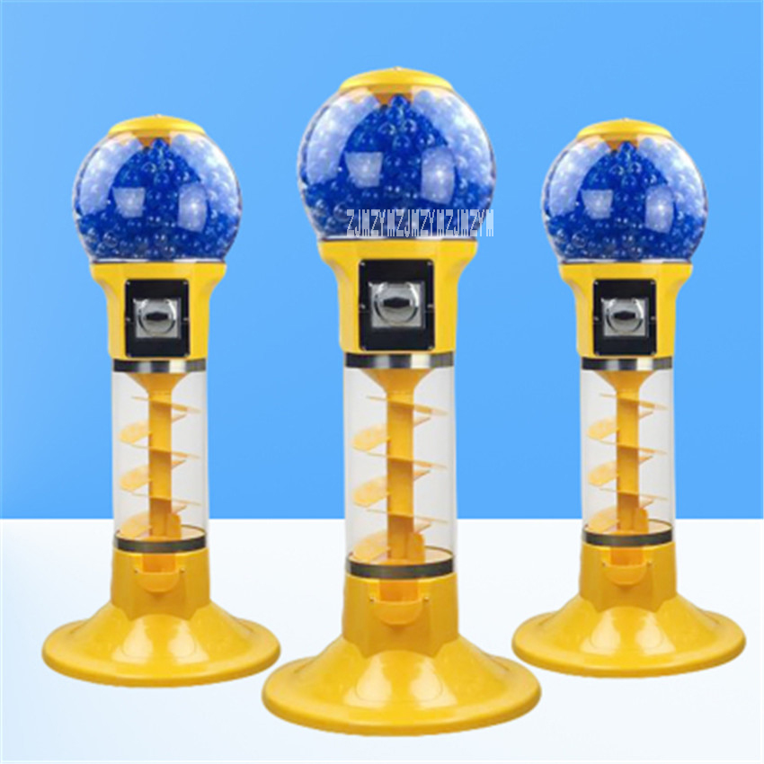 1PC Automatic Coin operated Game Machine 32mm 60mm Bouncy Ball Machines /Twisted Egg Games Vending Machine 1.1 m/1.3 m Hot Sale
