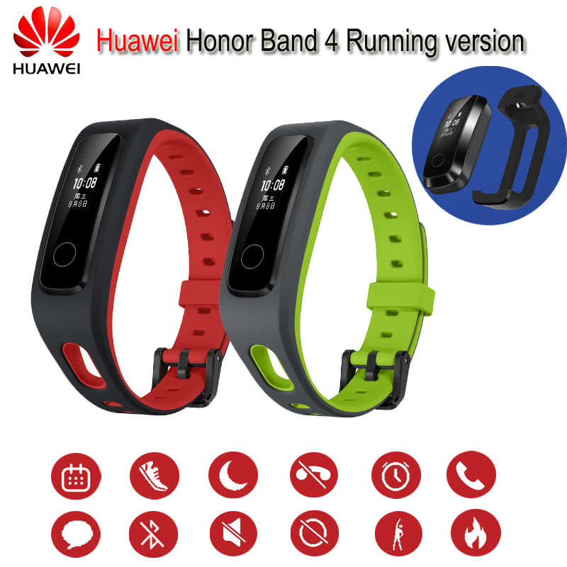 Новый продукт huawei Honor Band 4 Running Version Smart Wristband Shoe-Buckle Land Impact Sleep Snap Monitor