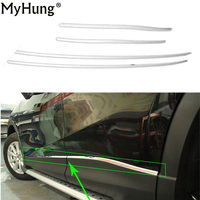 Car Body Side Door Trim Moulding Lid Trim For Mazda Cx5 Cx 5 2013 2014 2015 2016 Stainless Steel 4pcs Stickers Auto Accessories