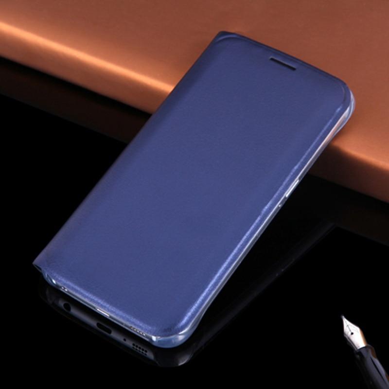 Läderplånbok för Samsung Galaxy S6 G920 G920F G920i G920H - Reservdelar och tillbehör för mobiltelefoner - Foto 1