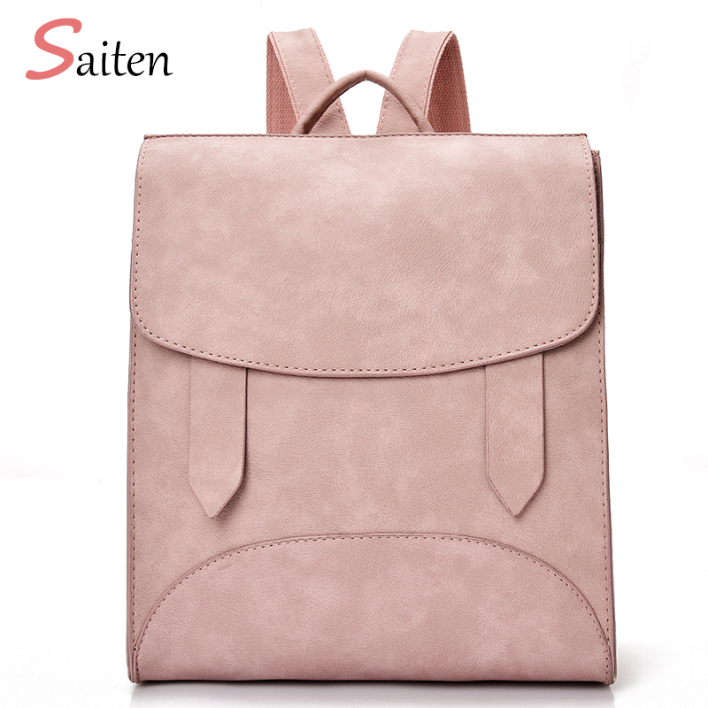 High Quality Women Backpack Leather Bags New Arrival 2017 Backpacks For Teenage Girls Fashion Bag Woman
