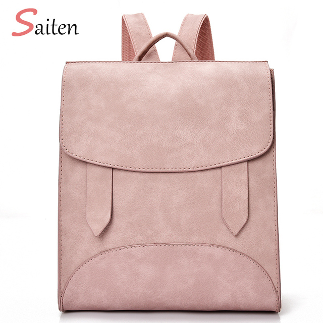 c1aab904273d High Quality Women Backpack Leather Bags New Arrival 2017 Backpacks For Teenage  Girls Fashion Bag Woman