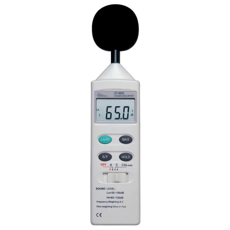 sound level meter Noise meter decibel test Db meter DT-8850 Free shipping mc7812 induction tobacco moisture meter cotton paper building soil fibre materials moisture meter