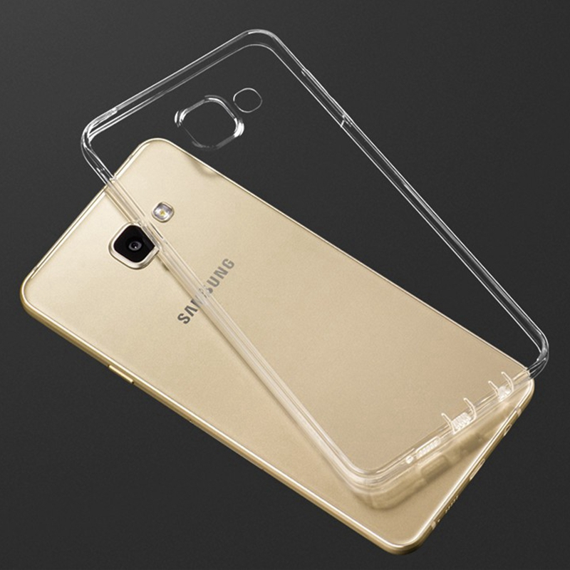 Clear Ultra Thin Soft TPU Phone Case For Samsung Galaxy <font><b>J1</b></font> J3 J5 J7 <font><b>2016</b></font> J120 J310 J510 J710 J3 J5 J7 J2 Prime Silicon Cover image