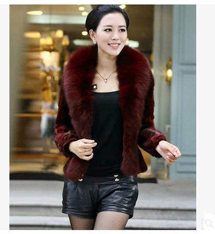 Anti Season Women Autumn And Winter Man Made Fur Jacket Casual Faux Fur Coats Casaco De