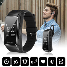 Life Waterproof Bluetooth Pedometro Smartband Call Calorie Frequenza cardiaca Meter Step Fitness Tracker Music Player Sport Orologio da polso