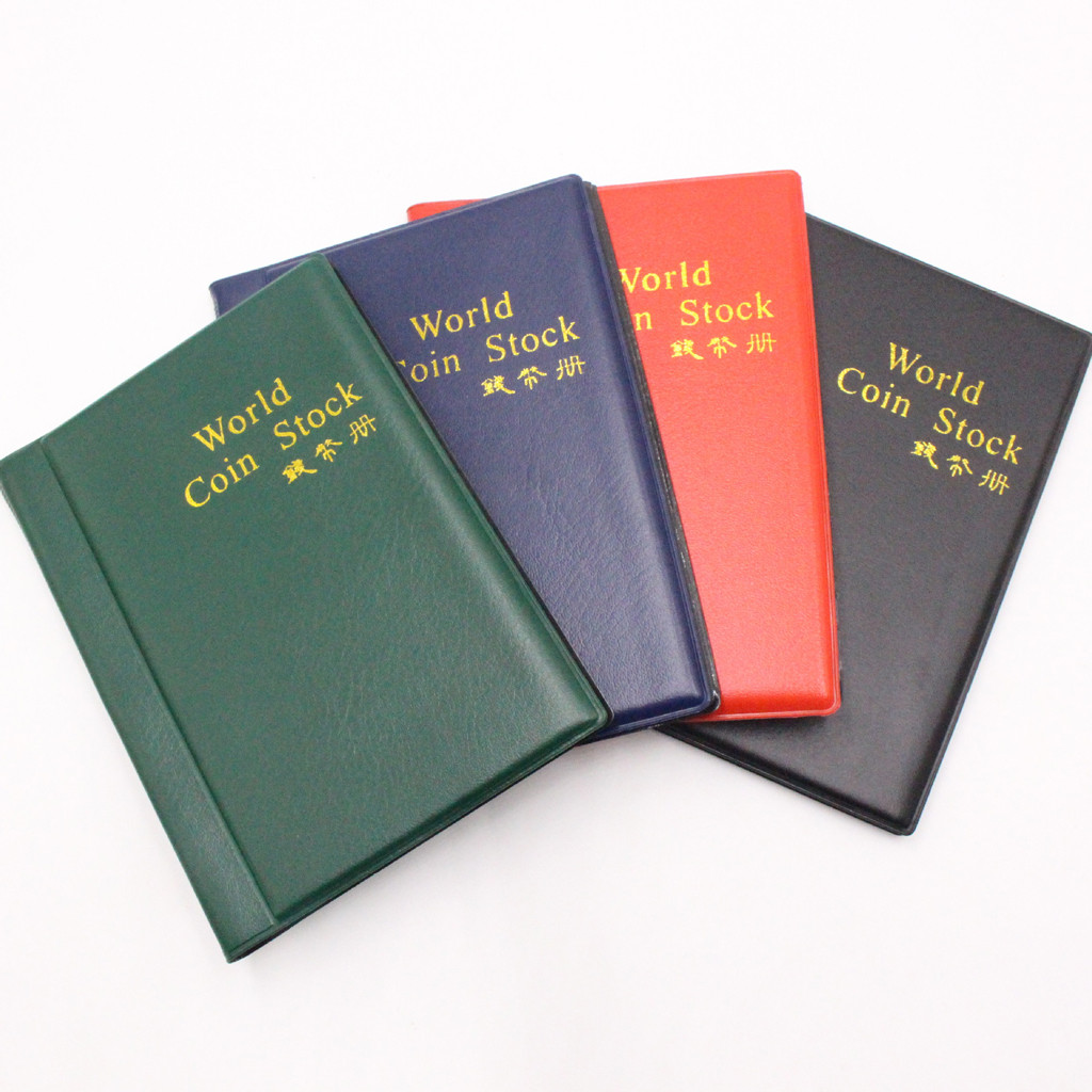 Collecting 60 Pockets World Coin Collection Storage Holder Money Album Book Sale