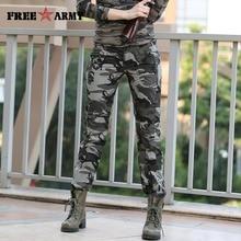 Новый Дизайн Лето Повседневные Брюки Военные Камуфляжные Штаны Женщин Высокого Качества Slim Fit Бегунов Для Женщин FreeArmy Бренд Gk-9522B