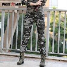 Женские повседневные штаны Летние плюс Размеры jogger брюки военного камуфляжные женские брюки Slim Fit женские элегантные хлопковые Капри Gk-9522B