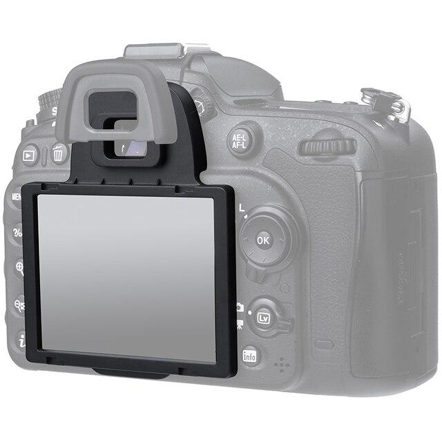 14ace20a35110 Japonés óptico de cristal LCD protector de pantalla para Nikon D7100 D7200  cámara DSLR envío gratis