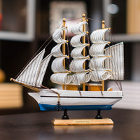 about 22x5x22cm wooden sailboat model artcraft home decoration ornaments,furnishings office desk decoration gift a2298