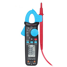 Clamp Meter Auto Range Digital Multimeter 6000 Counts AC/DC Ammeter Voltmeter resistance tester Temperature Tester large lcd trms clamp multimeter 6000 counts temperature auto range ac dc ammeter with backlight free shipping ng4s
