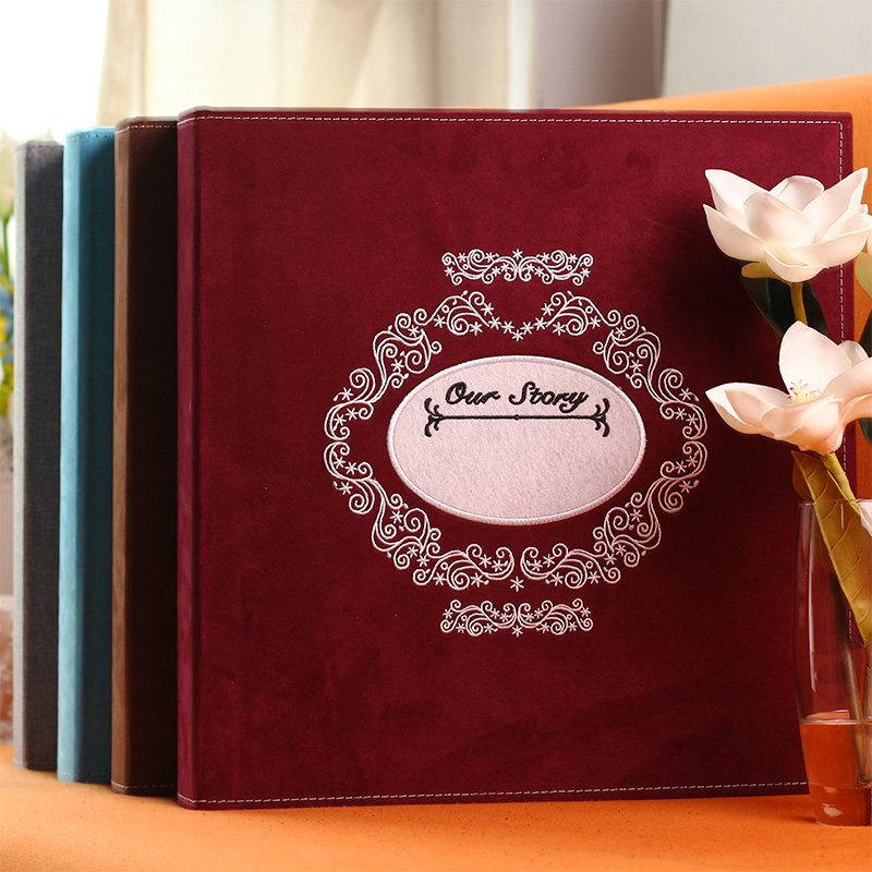 gallery page type of the family photo album retro plastic 6 inch large capacity universal childrens Memorial Book