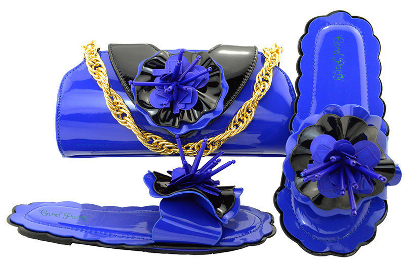 Italian Design  Flat Shoes With Matching Bag,The High Quality African Fashion Royal Blue Shoes And Evening Bag For Party MM1053 2016 us 7 5 11 the usa brand dekline pro kids sport shoes for pro sk8er with dark blue color and good quality and multi design