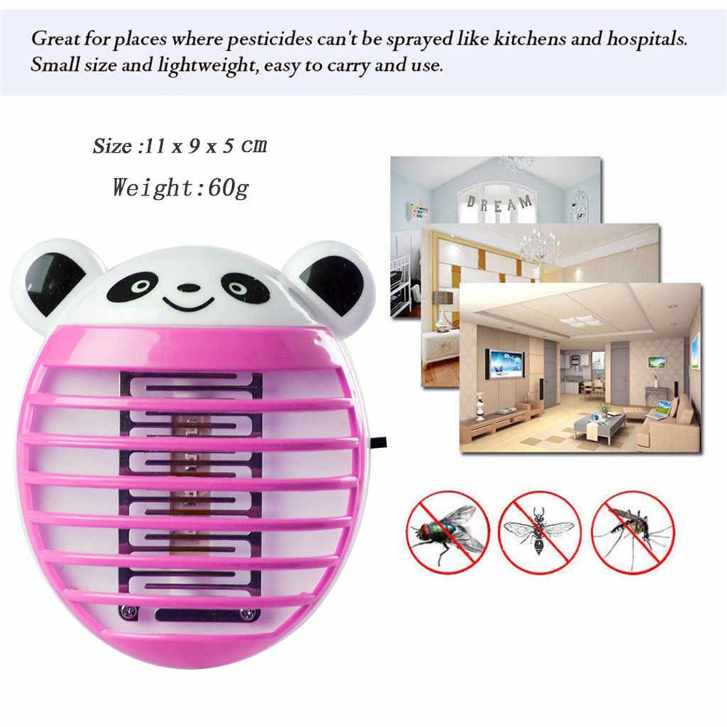 ISHOWTIENDA 2019 LED Soket Elektrikli Sivrisinek Fly Bug Böcek Tuzak Killer Zapper Gece Lambası Işıkları Sıcak satış
