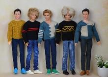 Fashion Children baby toys Girls Gift pullip boy Doll Accessories casual suit set lot clothes For boyfriend Dolls 1/6 ken