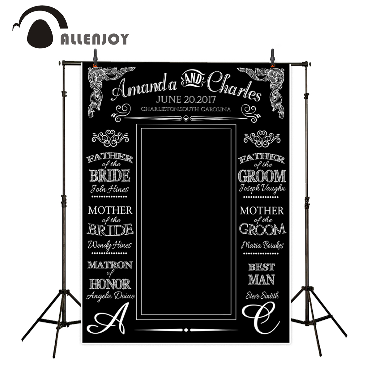 Allenjoy background for photo studio customized love wedding black bottom backdrop for photo studio fantasy backgrounds