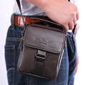 Men Genuine leather Cowhide Shoulder Messenger Crossbody Brand Famous Small Belt Hip Waist Pack Fanny Male Tote Hand Purse Bag