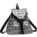 Новая Мода Решетки Алмаза BaoBao Сумка Рюкзак Геометрическая Женщины-Подростки Сумка рюкзак Геометрическая Совместное Рюкзак Девушки Школьная сумка