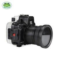 Камера Водонепроницаемый Корпус чехол для Canon EOS 750D Подводные 40 м Photograpy Камера аксессуар Дайвинг непроницаемой Защитный чехол