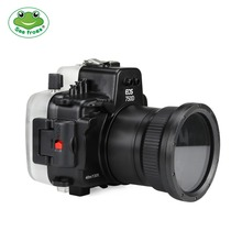 Camera Waterproof Housing Case for Canon EOS 750D Underwater 40m Photograpy Accessory Diving Impermeable Protective