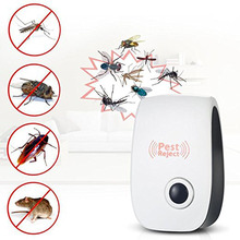 Electronic Ultrasonic Pest Repeller Mouse Trap Mosquito Killer Lamp Rat Anti Mosquito Insect Killer Anti Rodent Bug Reject Ect