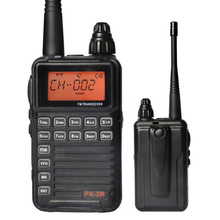 Free shipping New px-2r Portable Radio Walkie Talkie 2W 128CH UHF Two Way Radio Interphone Transceiver Mobile
