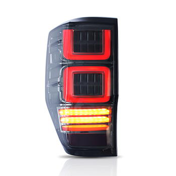 Tail Lamp Light Rear For Ford Ranger T6 Tail Lights 2012 2013 2014 2015 2016 2017 2018 Rear Lamps Smoke Black and Clear Lens