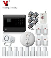 G90B 2 4G Wireless WiFI Home Alarm System Android IOS APP Voice Prompt GSM Alarm System