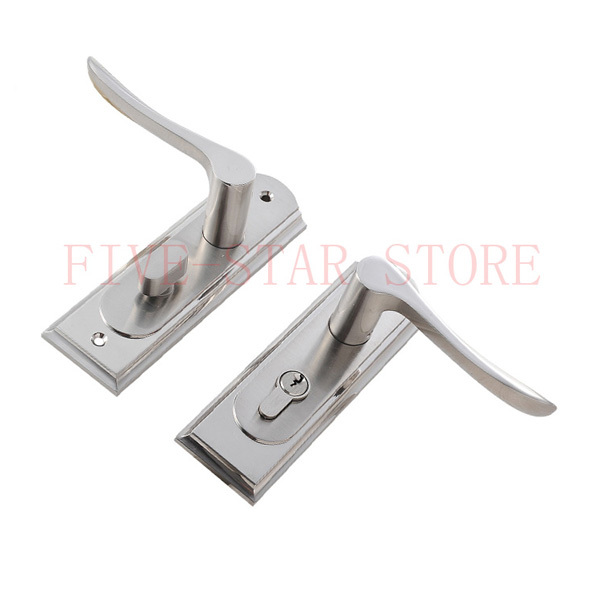 Modern design general brief mechanical interior door - Door handles with locks for bedrooms ...