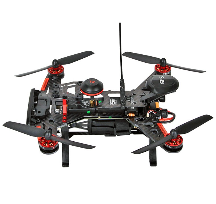 F16182 Walkera Runner 250 Advance GPS System RC Drone Quadcopter RTF with DEVO 7 Remote Control  OSD Camera GPS V4