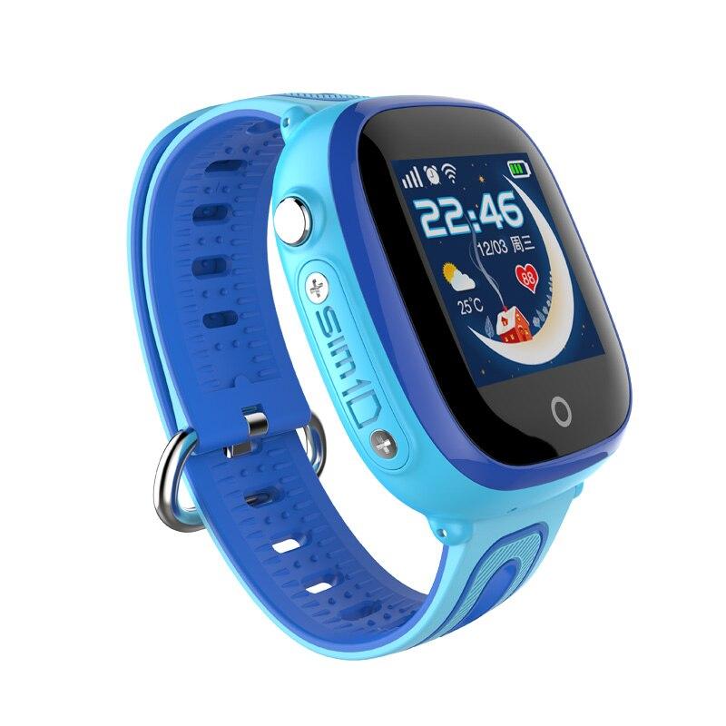 D90W enfants enfants montre bébé intelligente montres IP67 GPS positionnement bébé montre intelligente sûre SOS localisation d'appel montre intelligente Anti-perte - 3