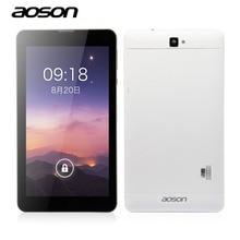 Venta de La promoción 4G LTE FDD M701FD Aoson Android 5.1 Tablet PC 7 pulgadas Quad Core MTK8735 1G/8G Cámaras Duales 5.0MP IPS Screen GPS