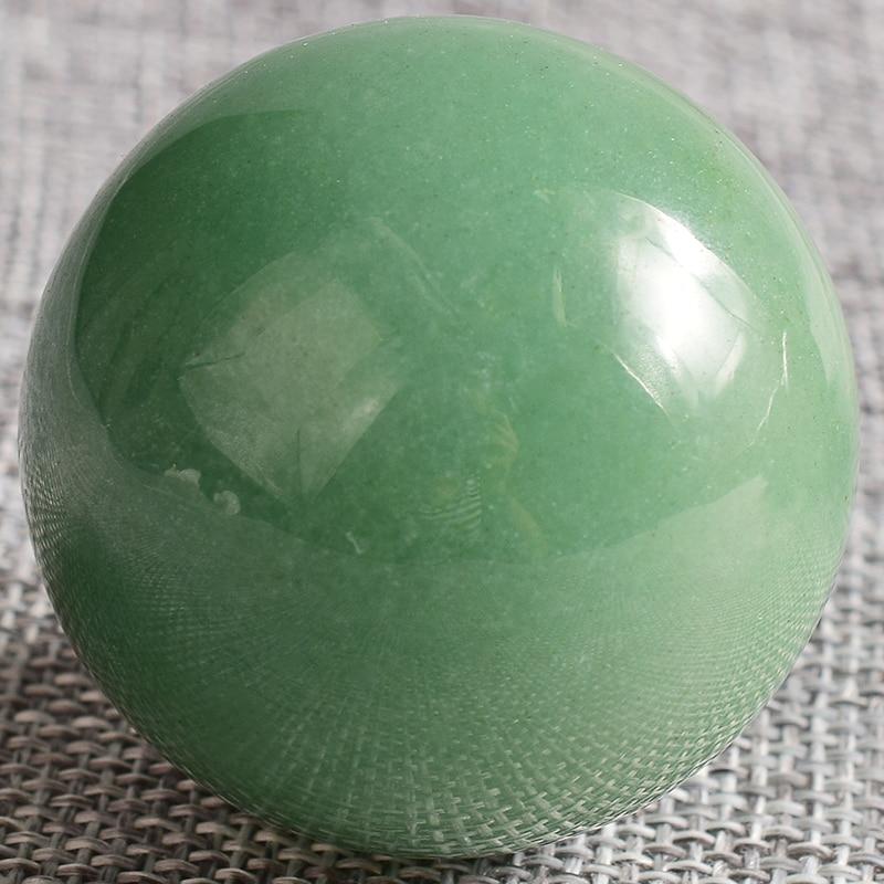 1 PIC Crystal Sphere 1 pcs 40 mm  green aventurine Hand Massager Crystal Balls Healing Chakra Reiki Ball 1 PIC Crystal Sphere 1 pcs 40 mm  green aventurine Hand Massager Crystal Balls Healing Chakra Reiki Ball