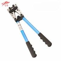 HX 50B Wire Terminal Crimping Tool 6 50mm2 Cable Lug Crimper Cu Al Terminal Ratchet Electrician