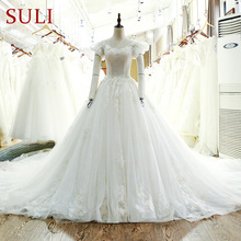SuLi SL-107 Charming Tulle Ball Gown Wedding Dress 2017
