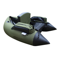 Professional Inflatable Fishing Catamaran Single PVC Rubber Boat For Fishing Kayak 1 Person Inflatable Fishing Chair