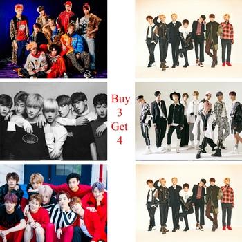 NCT K-Pop постеры рок музыка настенные наклейки белая бумага с покрытием принты Высокое разрешение украшение дома арт бренд