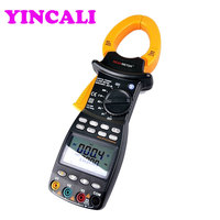 MS2203 Three phase Intelligent TRMS Digital Clamp Meter Power Factor Correction Multimeter Incorporated Current Meter and Power