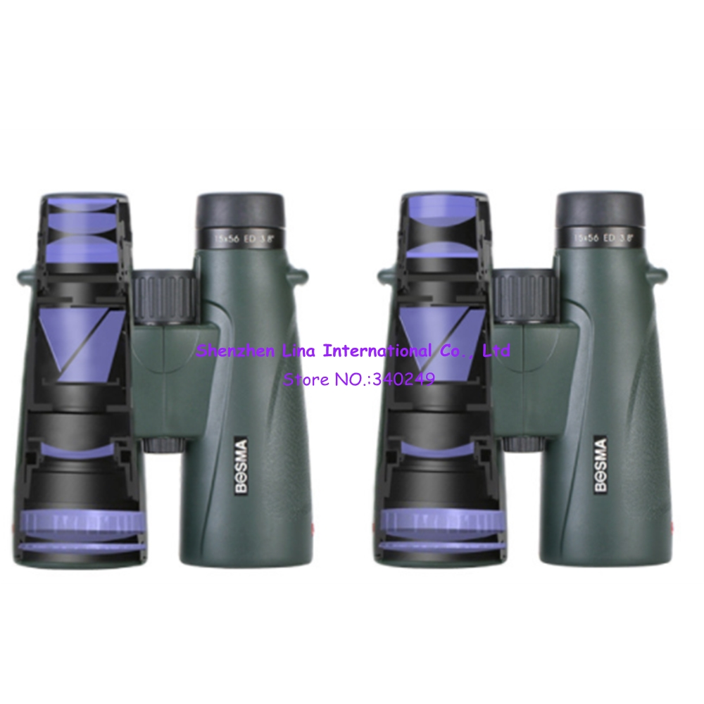 Bosma  Telescope 15X56 8X56 High-definition Large-diameter ED Mirror Bird Mirror Outdoor Military Binoculars