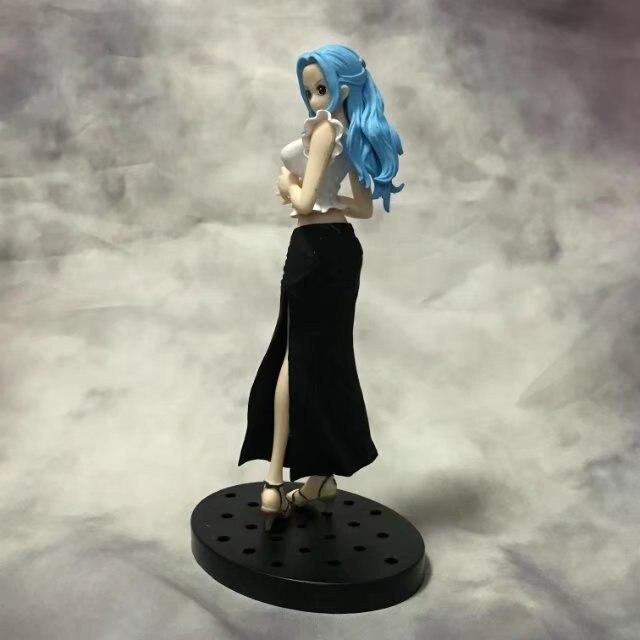 18CM Japanese anime figure one piece Nefeltari Vivi Jean ver action figure collectible model toys for boys