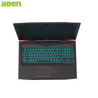 BBEN Laptop Gaming Computer Intel I7 7700HQ Kabylake 6GNVIDIA GTX1060 Windows 10 32GB RAM RGB Mechanical