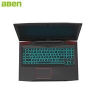 BBEN Laptop Gaming Computer Intel I7 7700HQ Kabylake 6GNVIDIA GTX1060 Windows 10 32GB RAM RGB Mechanical