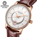 OCHSTIN Mulheres Relógios Senhoras De Cristal Moda Pulseira de Couro Ocasional relógio de Quartzo Relógio de Pulso Relógio Feminino montre femme relojes mujer