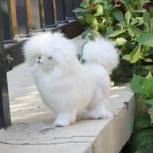 stuffed plush animal toy home decoration poodle dog
