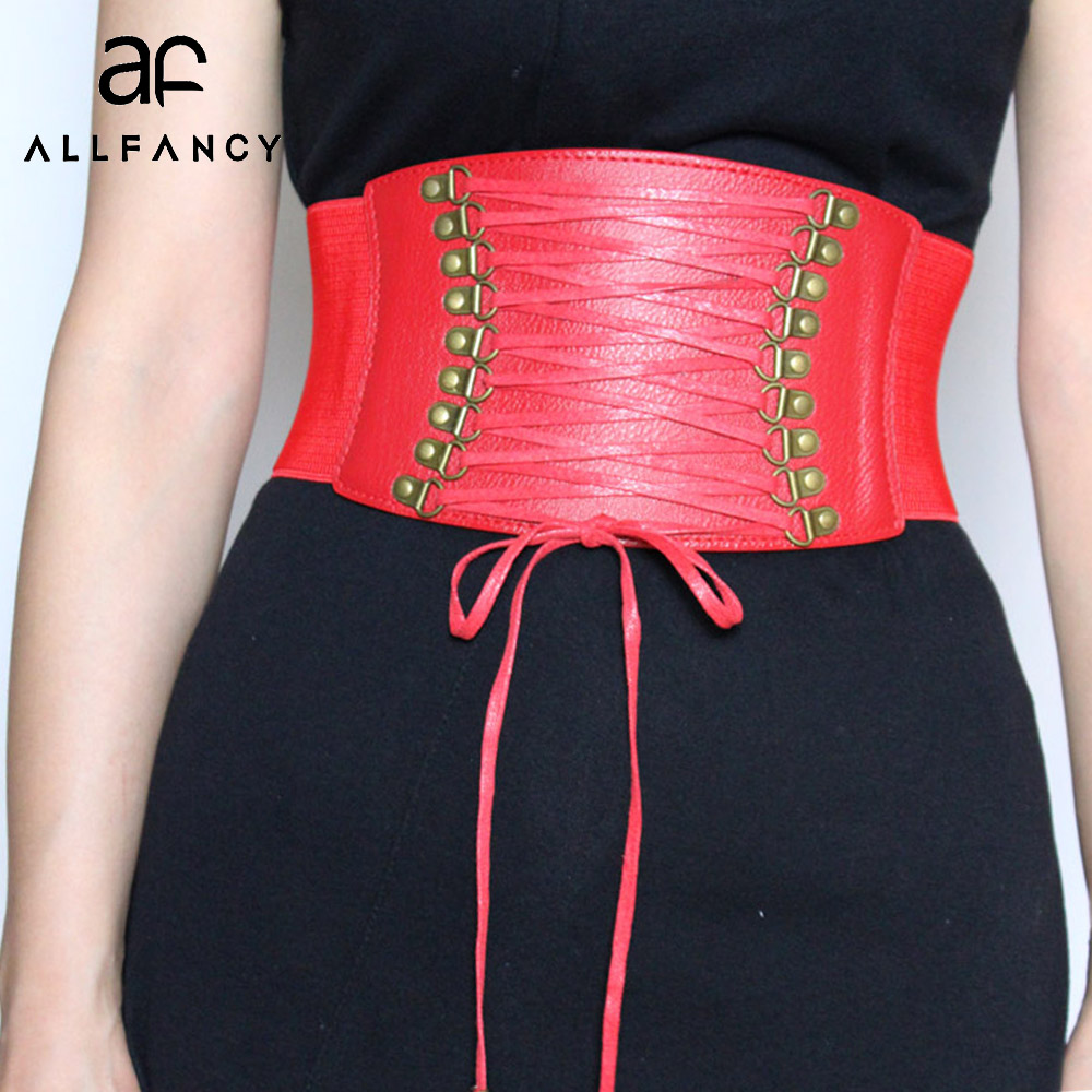 2017New Europe wide waist belt girdle fa